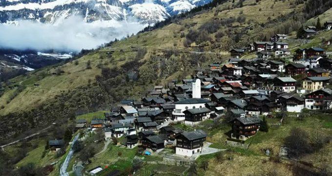 Albinen-Zwitserland-wonen