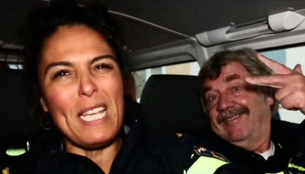 Politie-hoefkade-rap-den-haag