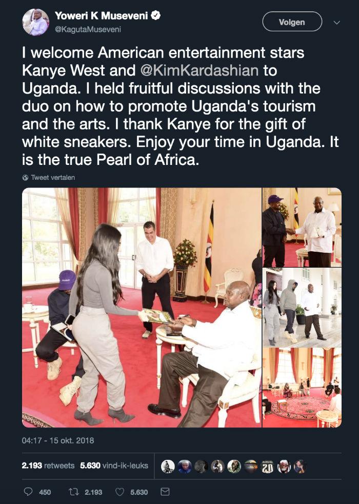 president-oeganda-kim-kardashian