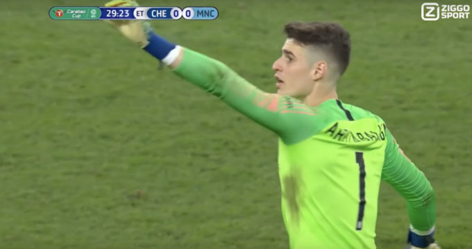 kepa-wissel-chelsea-manchester-city